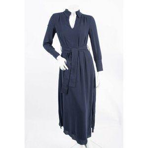 Massimo Dutti Womens Midi Shirt Dress US 2 EU 34